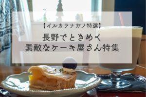 【イルカラ特選】長野市のおすすめケーキ屋さん20選